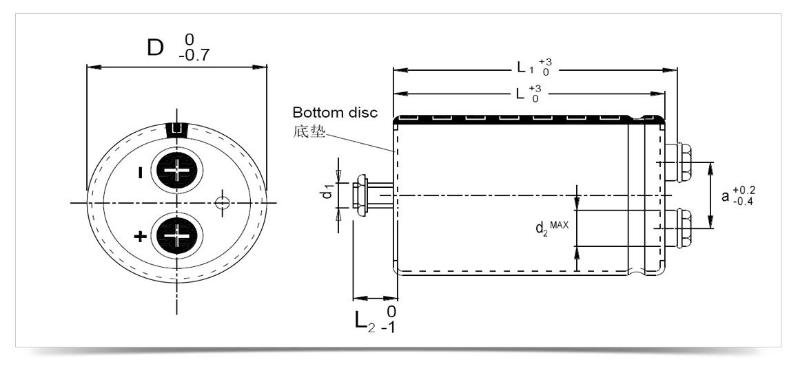 电解电容外形尺寸图