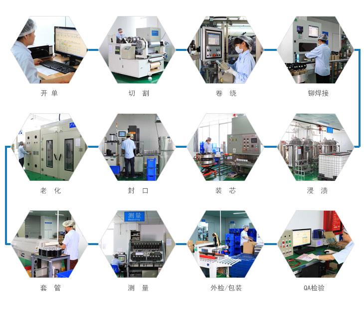 电解电容生产流程