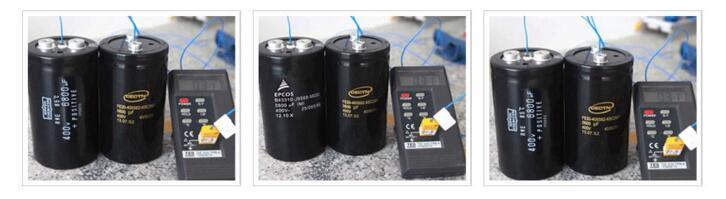 铝电解电容温升测试