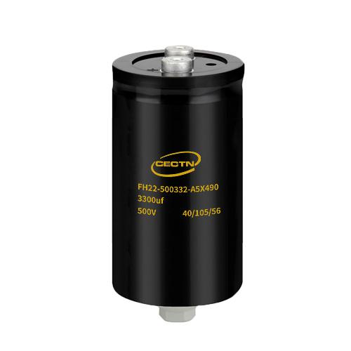 500V3300uf 螺栓电解电容